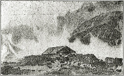 立山室堂(水彩画)